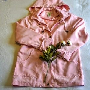 Jackets & Blazers - Classic Element pink hooded waterproof jacket